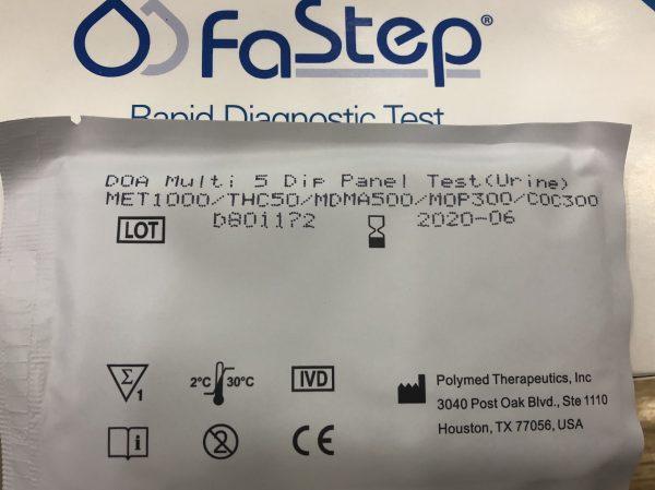Multi Drug 5 Panel Test – Que thử ma túy 5 chân